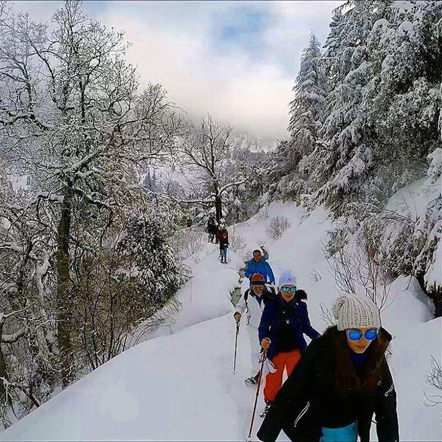 snowshoeinglebanon explorelebanon picoftheday livelovelebanon ... (Arez Ehden)