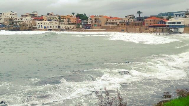 Winter ambiance at Batroun liban SeaTrip ig_lebanon WhatsUpLebanon ... (البترون)