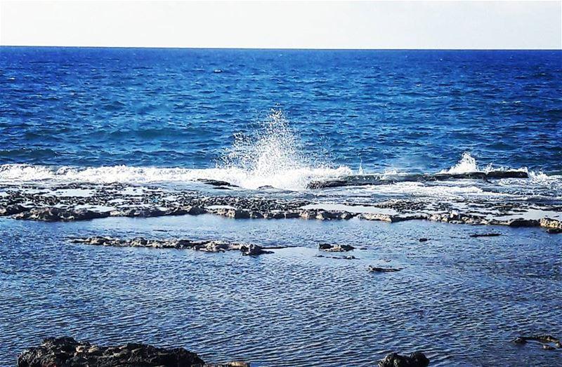 "Tell your secrets only to the sea. It will always keep them ""secrets""........ (Corniche El Mina Tripoli)"