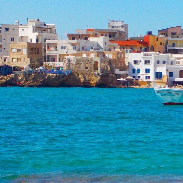 Relaxing view... ﻟﺒﻨﺎﻥ Batroun liban Phenicians ig_lebanon ...