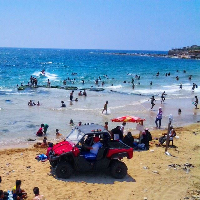 A looooot of summer fun in one pic.! TripoliLB Tripoli ElMina ...