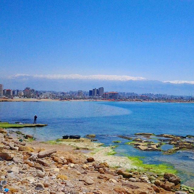 Lebanon's uniqueness in one picture.... TripoliLB Tripoli ElMina ﻟﺒﻨﺎﻥ...