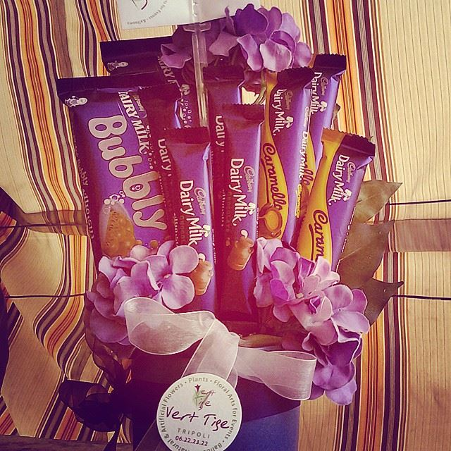 The best and most appetizing bouquet ever! Cadbury chocolate bouquet ...