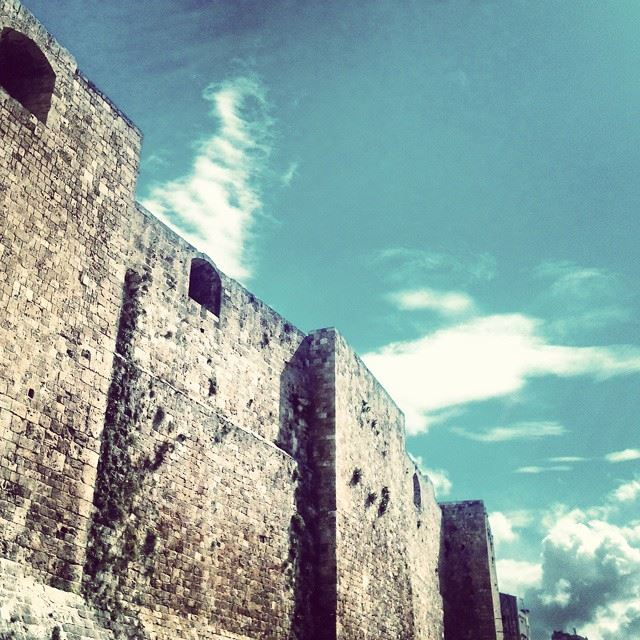 Tripoli's castle....it's a shame that the biggest castle in Lebanon is not...
