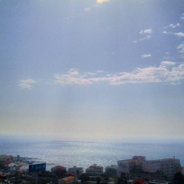 Today's view from El Monsef...what a beautiful area! Monsef Batroun ...