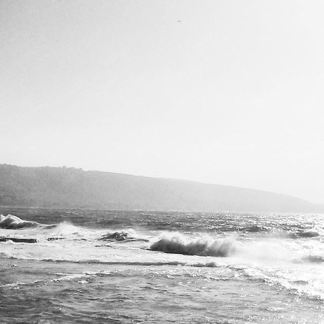 The Mediterranean in white & black TripoliLB Tripoli AlMina ...