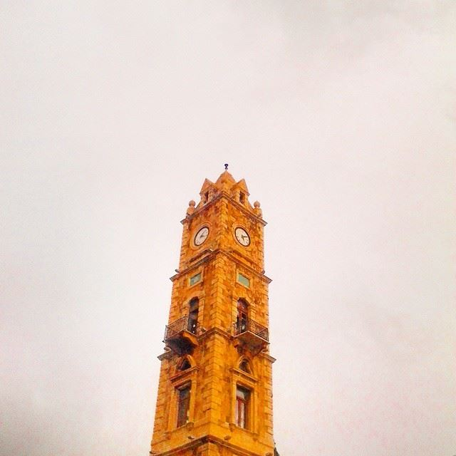 The Ottoman clock tower, a famous Tripolitan landmark! TripoliLB ...