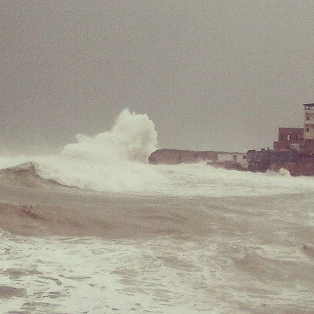 Crazy morning from Batroun! Batroun Yuhan storm ig_lebanon ig_leb ...
