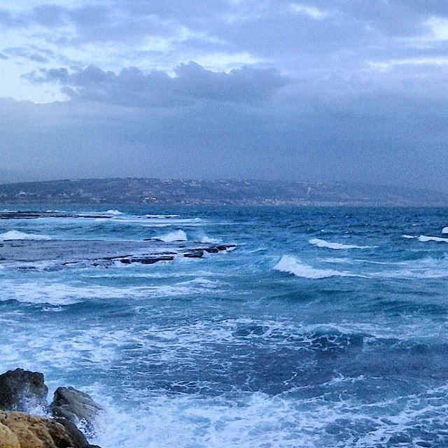 The angry Mediterranean!Good morning igers...  TripoliLB  Tripoli  AlMina...