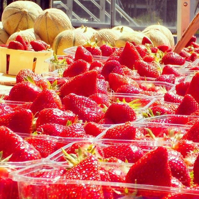 Who loves strawberry??!!! fruits Strawberry berries red melon ...