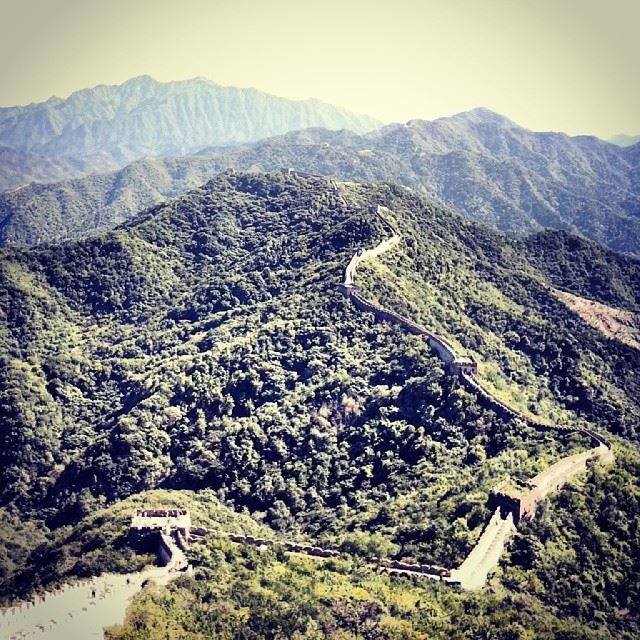 The great wall of China, Beijing   الصين  بكين Beijing  Pekin ...