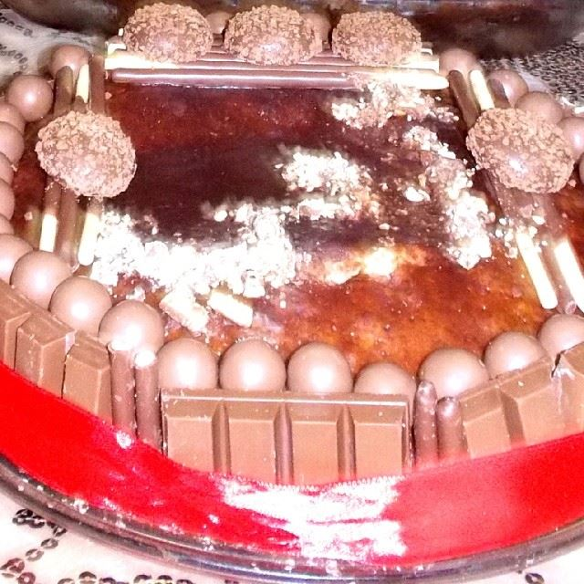Happy mother's day! mother day mom love kitkat cake sweet yummy ...