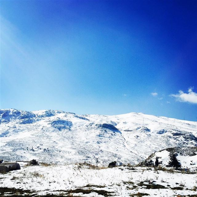 ❄️☀️ livelovebekaa snow amazing instafollow livelovelebanon ...