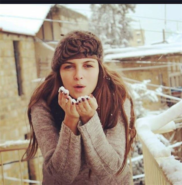 😊❄️⛄️ tb tbt throwback lastyear lastwinter snow home mountleb ...