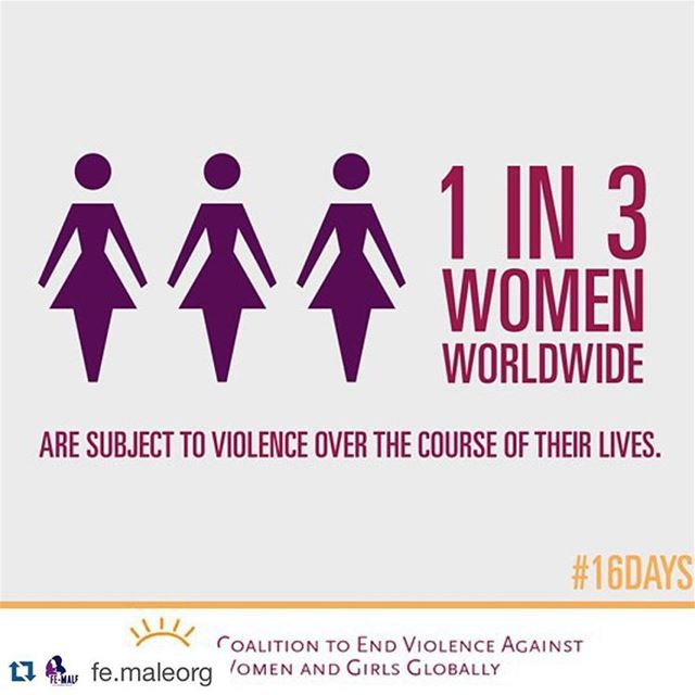 Repost @fe.maleorg with @repostapp.・・・ 16days 16daysofactivism women ...