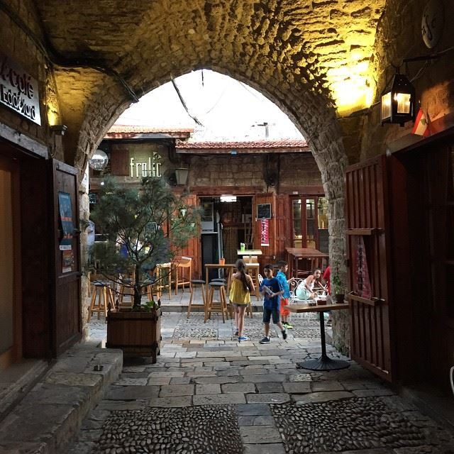 Byblos doesnt need a filter ❤️ Beautiful Byblos old city ... (Jbeil-Byblos)