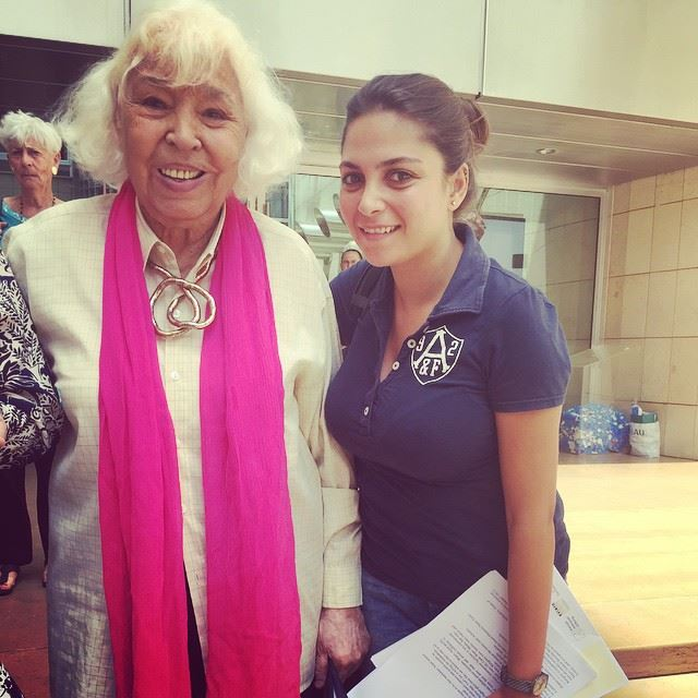 Sooo proud to have met this inspiring woman, Nawal Al Saadawi the great! ❤️