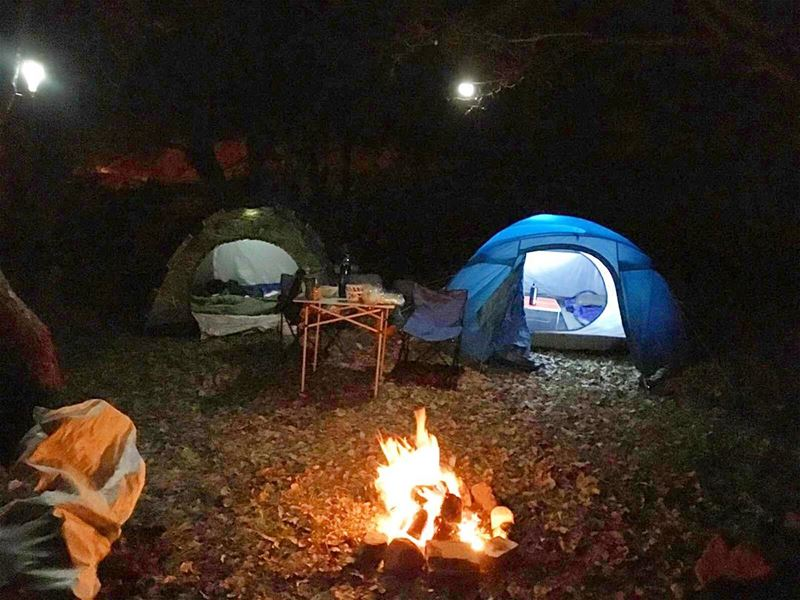 Nothing clears the mind like a weekend of camping!! decathlonleb... (Mayruba, Mont-Liban, Lebanon)