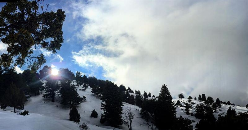 mylebanon lebanoninapicture snow bestinlebanon ... (Karm Chbat - Chanbou2)