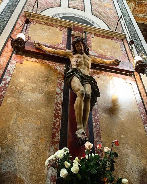 travelphotography travelgram leo love soul desert mydubai mybeirut... (Chiesa Del Gesú Nuovo, Napoli)