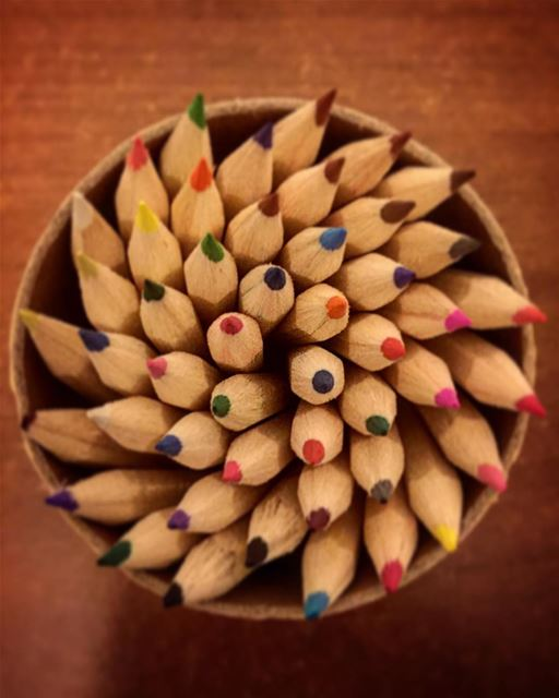 Sharpen your tools and draw your path to a colorful and positive future ... (Conca d'Oro)