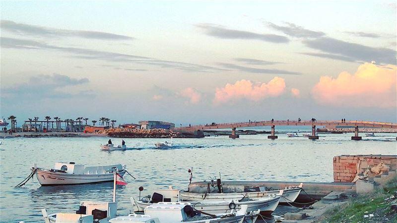 Tripoli 💓 TripoliLB Beautiful Sunset Keepcalm Mediterranean Sea... (Tripoli, Lebanon)