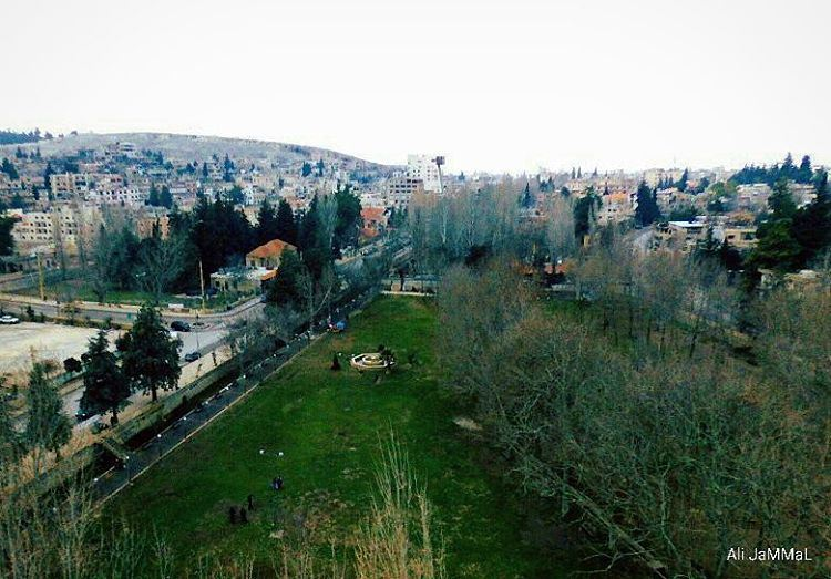 My native city 💚 baalback baalbeck lebanon city lebanonspotlights ... (Ras El Ein Park - Baalbeck City)