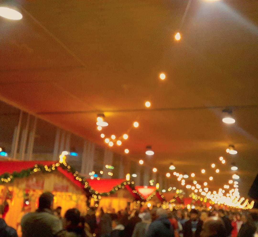 Live Love Tripoli 💓💓💓 Tripoli's Christmas Market ceremony was really... (Rachid Karami International Fair)
