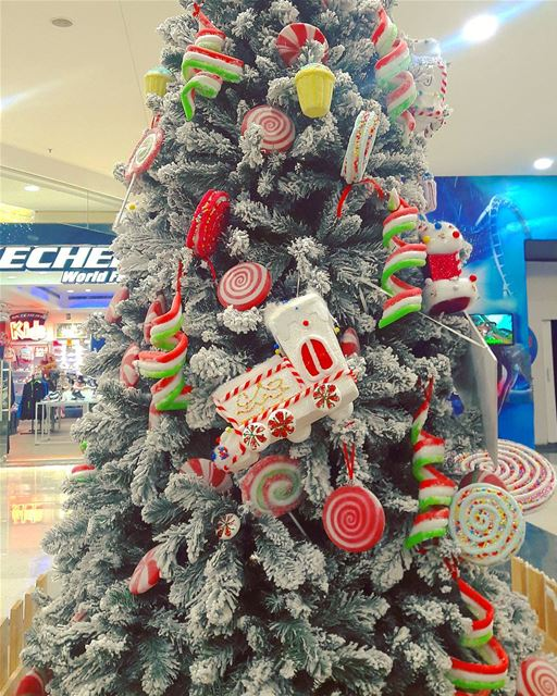 Now this is a really sweet Christmas tree 🍭🍬🍥🌲🌲🌲  christmas ... (City Mall - Dora)