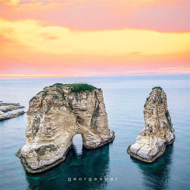 """Le Rocher""...Beirut 🇱🇧.... proudlylebanese beautifullebanon ... (Beirut, Lebanon)"