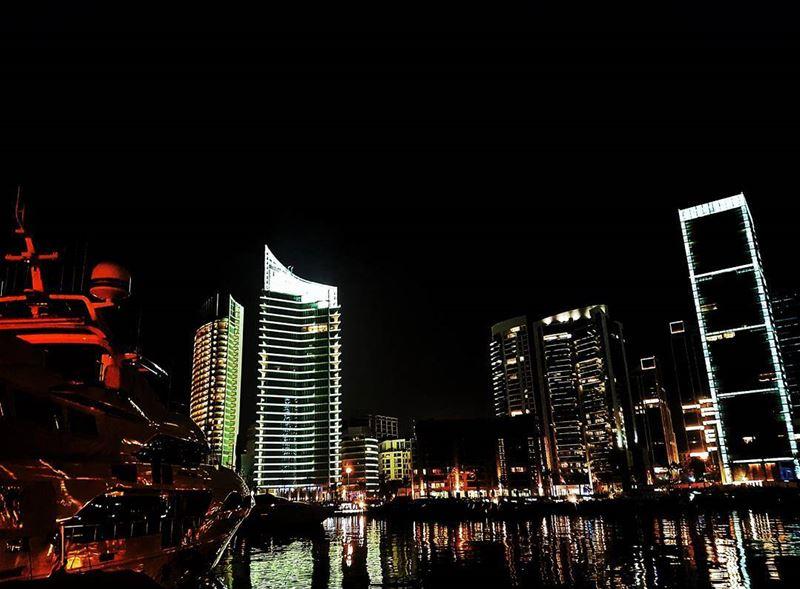 Beirut by night lebanon waterfont citiesoftheworld worldtodolist ...