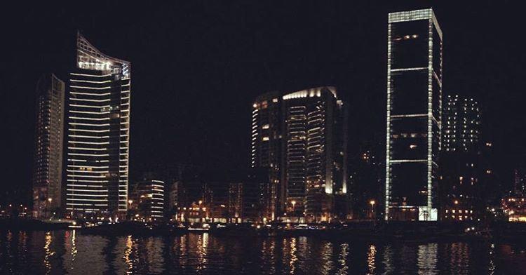 - Beirut by night - livelovebeirut livelovelebanon lebanon beirut ... (Zaitunay Bay)
