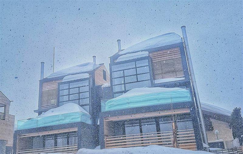 faraya lebanon mountlebanon snowing whatsuplebanon insta_lebanon ...