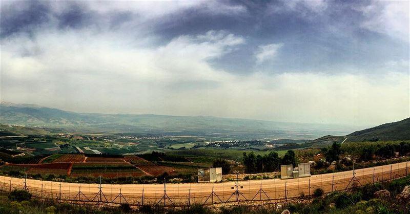 palestine palestinewillbefree invisiblefence resistance occupation ... (العديسة Lebanon South Border)