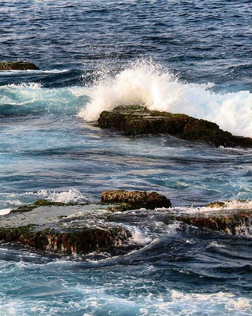 ... Those rocks that in my way do stand; I'll soon reduce them into sand � (Beirut, Lebanon)