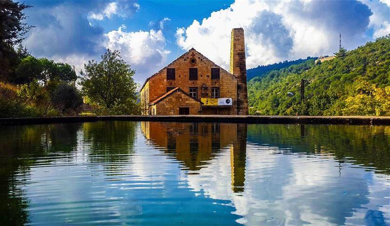 The old silk factory lebanon elchouf maasserbeiteldine ...