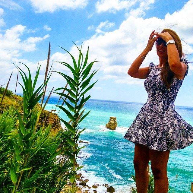 lebanon amchit cloudy sky beach rock amazing windy landscape ...
