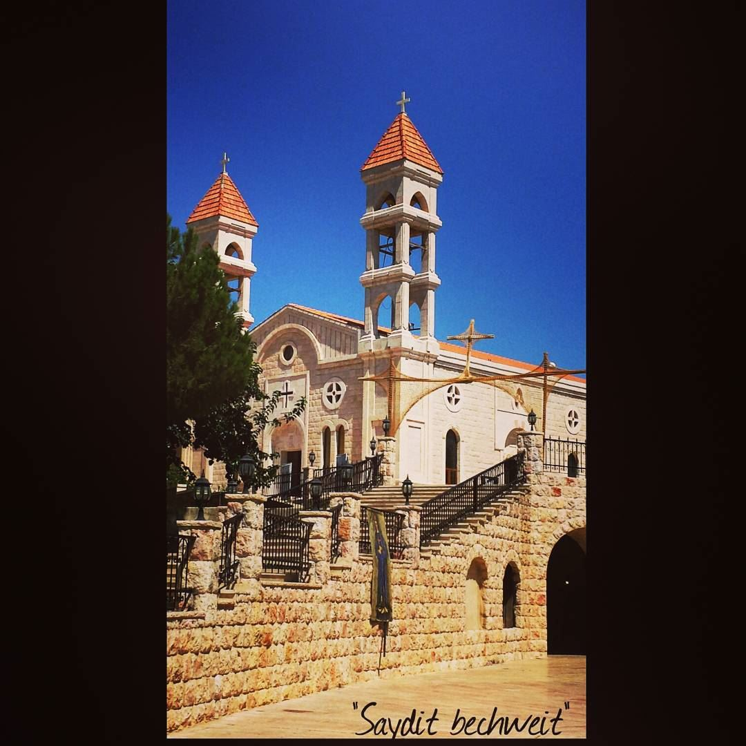 May OUR LADY of Bechwat carry Lebanon in her arms to a great future (Saydet Bechwat, Bekaa, Lebanon)