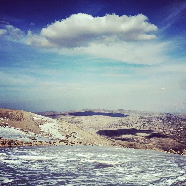Had a great Day with Skyline_extremesports @ Cedars hiking snowshoeing...