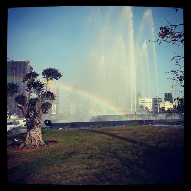 Beirut rainbow Lebanon ...