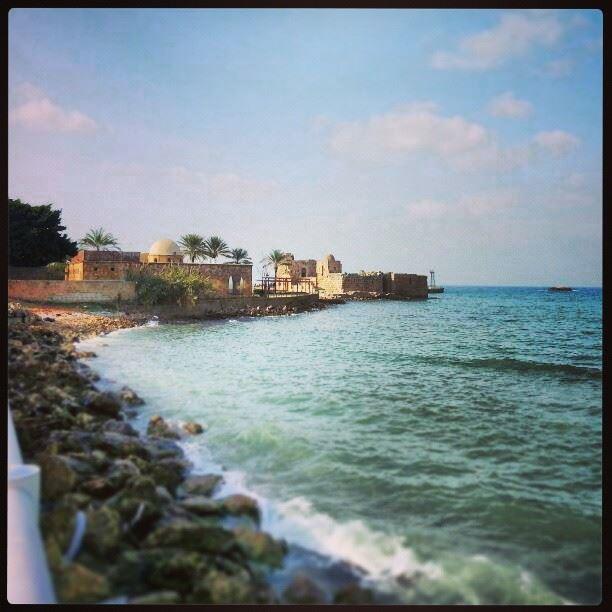 Saida Lebanon castle...