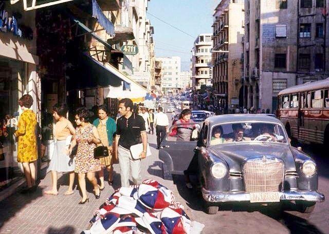 شارع ويغان بيروت ١٩٦٦