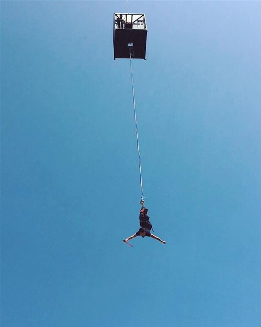 bungee bungeejumping bungeejump bungeejumped jump rope jumping jumper... (AUCE Hadath)