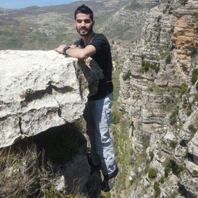 A moment on the edge hiking via ferrata rock climb hike adventure...