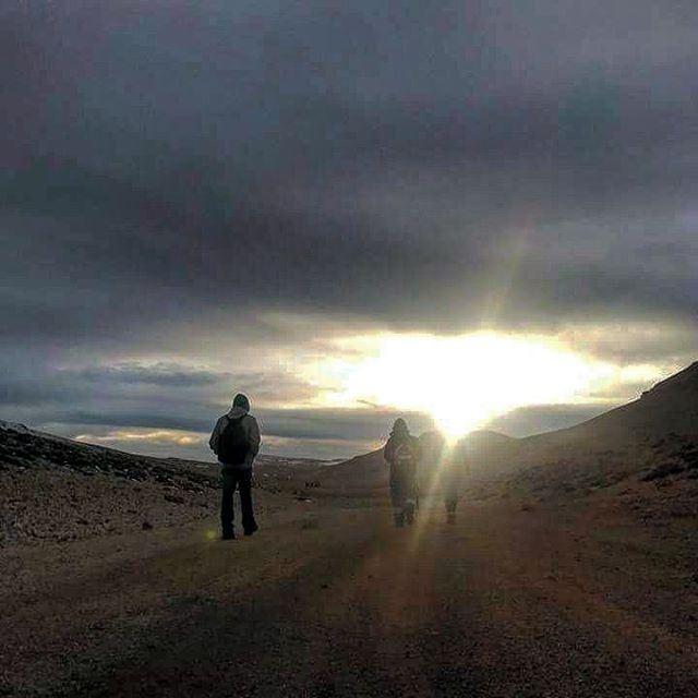 Black_Summit sunsets adventure hiking nature hikers natural hike clouds... (القرنة السوداء)