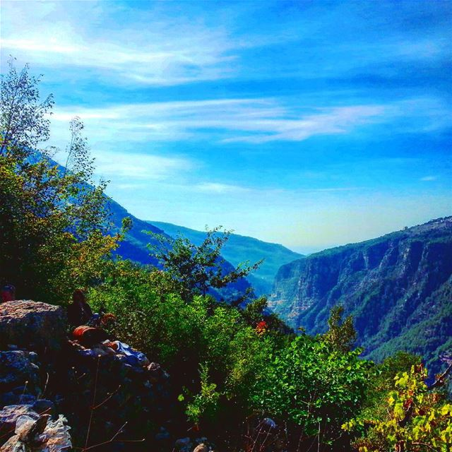 hiking adventure nature hikers extreme hike Chouwen nature_perfection... (Chouène, Mont-Liban, Lebanon)