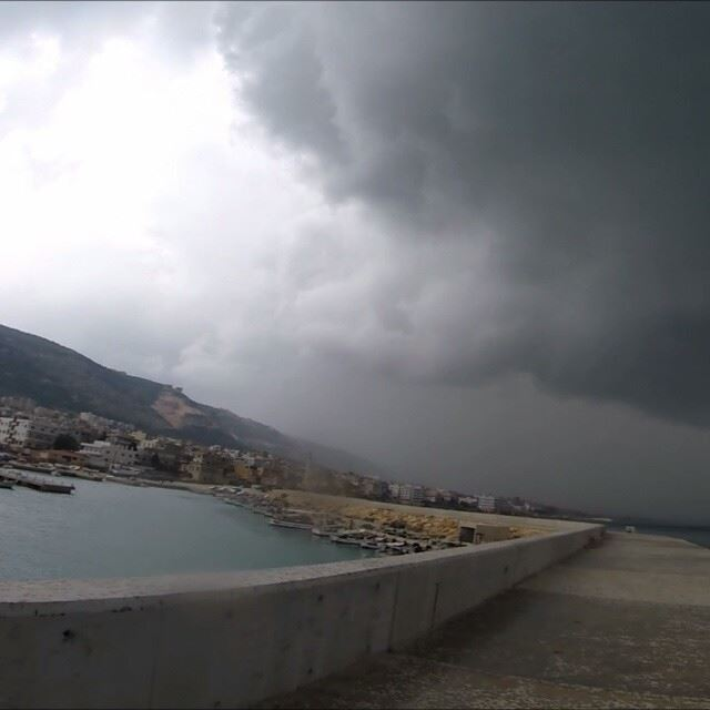 instavideo video port sea boat lebanon colorful lebanese...
