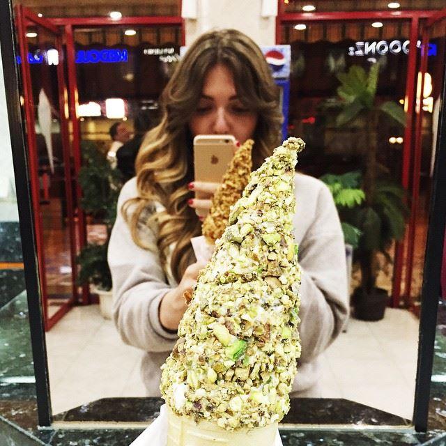 Лучшее мороженое// craving for the best Ice cream Lebanon escape sweets...