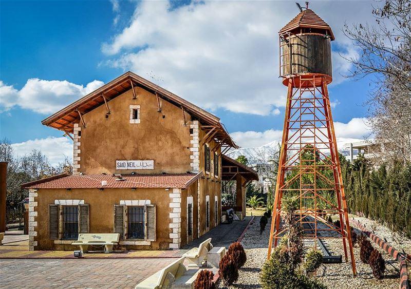 Taalabaya train station | traditional Building. Good evening dear IGers ... (Beqaa Valley)