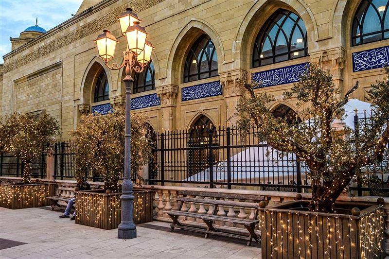 .Beirut Downtown | First Christmas Decorations | Good evening dear IGers... (Downtown, Beirut, Lebanon)